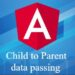 How to send data from child component to parent Component using  Event emitter  – Angular